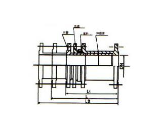 恒昌cs型热力伸缩器基本示意图