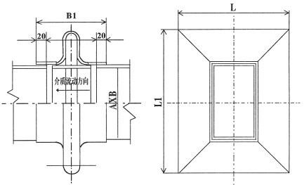 恒昌电厂烟风煤管道补偿器结构图